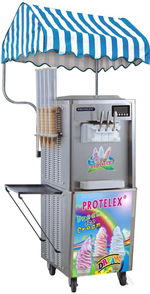 παγωτομηχανή ENTRY PROTELEX