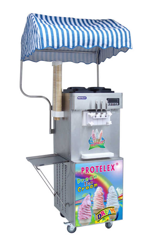 Παγωτομηχανή Summer 2020 Protelex