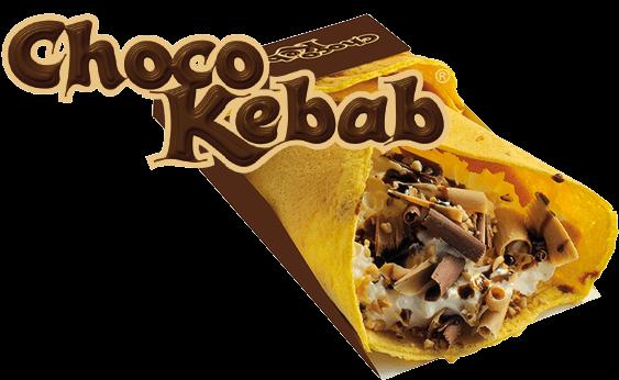 Choco Kebab - Γύρος Σοκολάτα